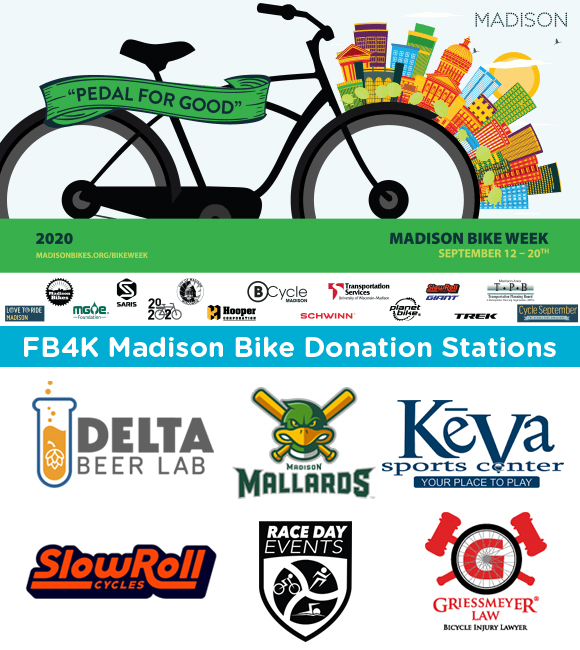 Madison Bike Week bike donation